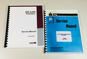 INTERNATIONAL-FARMALL-300-350-TRACTOR-GAS-ENGINE-CHASSIS-SERVICE-SHOP-MANUAL
