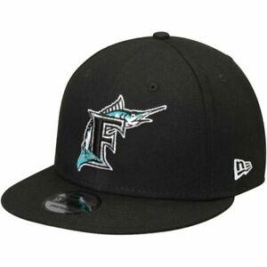 New Era Miami Marlins Adjustable 9Fifty MLB Flat Bill Baseball Cap 950 Florida