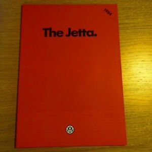 Vw Volkswagen Jetta C Diesel Cl Gl Auto Uk Brochure 1983 For 1984 Model Year Ebay