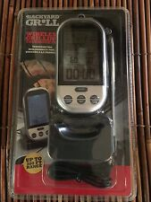 Attirant Backyard Grill WIRELESS GRILLING THERMOMETER 100 FT. RANGE