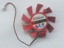 65mm Video Card Fan for ATI HD 5750 5770 39mm 2Pin FD7015H12S DC12V 0.43A