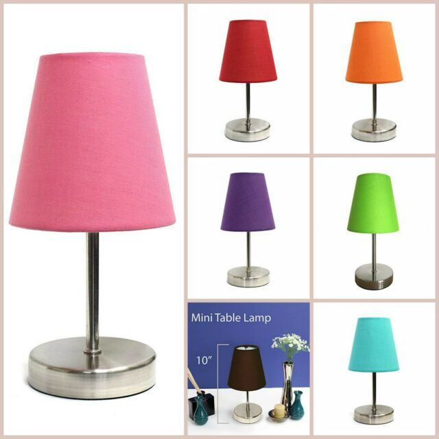 Mini Table Lamp Living Room Lamps Small Contemporary Desk Table Home  Lighting