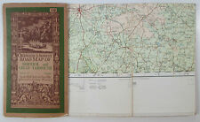 1914 OS Ordnance Survey half-inch map layers lge sht 19 Norwich & Great Yarmouth