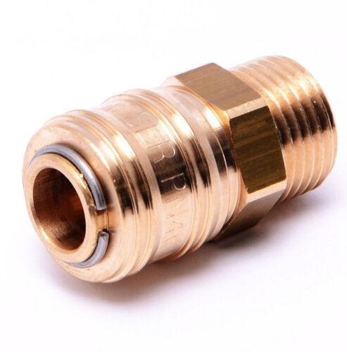 """G1//2/"""" aussen //ka9.0805.0 Schnellverschlusskupplung Druckluftkupplung DN 7,2"""