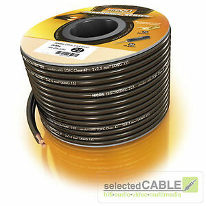 HICON-Ergonomic-20m-2-x-2-5mm-OFC-Lautsprecherkabel-Kabelspule-HIE-225-2000