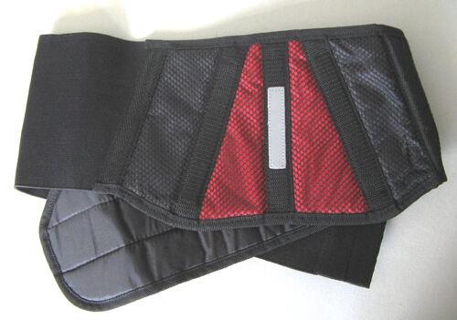 Sommernierengurt Rot-schwarz Enduro Superbike  Nierengurt dehnbar universal  33/%