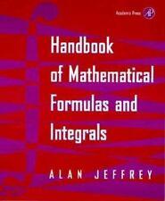 Handbook of Mathematical Formulas & Integrals-Jeffrey