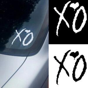 The-Weeknd-XO-PET-Sticker-Car-Truck-Window-Laptop-Macbook-Wall-Art-Decal-x1-New