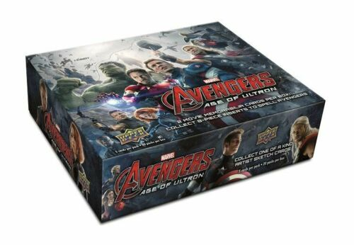 Upper Deck Marvel Avengers 5 Cards Age Of Ultron Trading Cards Hobby Pack