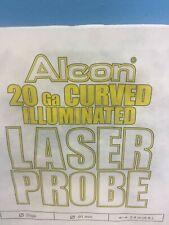 Alcon 20ga Curved Illuminated Laser Probe 750985 En Gauge Sterile 2019 Dated