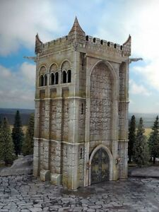 Renedra Ltd - RNRT -  Wargame Tower Plastic Kit 28mm 1/56 Scale -Tracked 48 Post