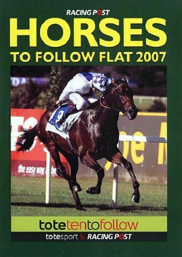 Very Good, Horses to Follow: Flat, , Paperback