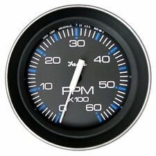Faria Coral Tachometer Gauge Gas Inboard and I/Ouboard 6,000 RPM 33004 MD