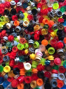 LEGO Lot 100 Mixed Bricks Plates Pieces Assorted colors U Pick