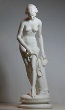 Königin Helen von Troja / Sparta Nackt Erotisch Große Alabaster Statue Skulptur