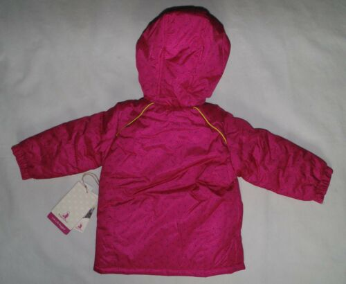 Rugged Bear Baby Girls Size 18 Months Tonal Printed Ski Jacket Pink Winter Coat