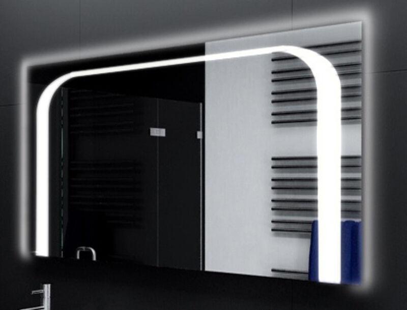 Badspiegel mit LED Beleuchtung Badezimmerspiegel Bad Spiegel Wandspiegel D118