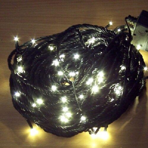 Micro LED Lichterkette 11,85m 80er warmweiß 8 Funktionen außen 3614-110 xmas