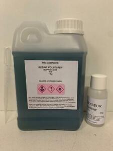1-Kg-De-RESINE-POLYESTER-ISO-Catalyseur-1-Pipette-Doseuse