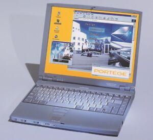 Vintage-Toshiba-Portege-7140CT-Ultraportable-Notebook-Computer-Windows-98