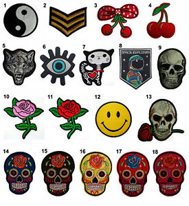 Embroidered-Iron-On-Sew-On-Patches-Badges-Fancy-Dress-Party