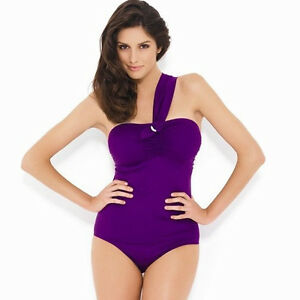 Panache Sw0630 Swimwear Sophia One Shoulder Swimsuit Swimming