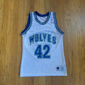 Minnesota-Timberwolves-Vintage-90-s-Donyell-Marshall-Champion-Jersey-36-S-EUC