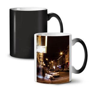 Street Life Night City NEW Colour Changing Tea Coffee Mug 11 oz | Wellcoda