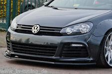 SONDERAKTION Spoilerschwert Frontspoiler Lippe ABS für VW Golf 6 R mit ABE