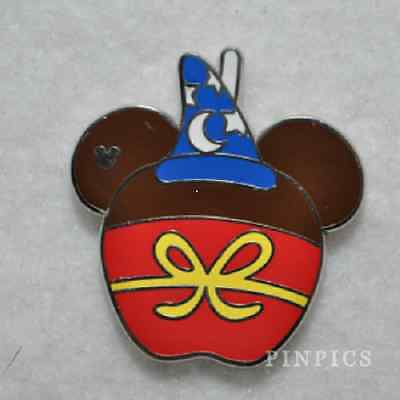 SORCERER MICKEY CANDY APPLES CHARACTER WDW 2015 Hidden Mickey Disney Pin 108475
