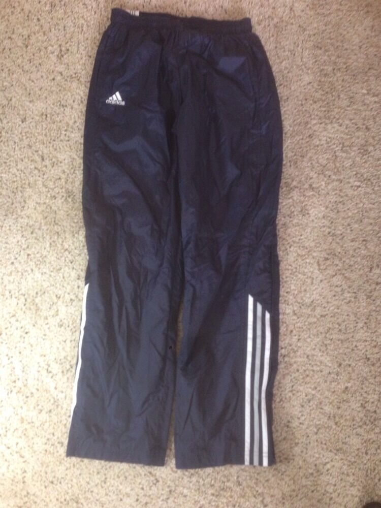 Men's Lined athletic gym pants by adidas size Small bluee Ked