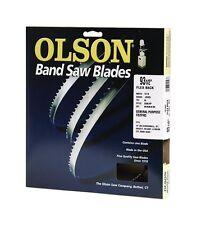 "Olson Band Saw Blade Hard Edge 93-1/2 "" X 1/2 "" 3 Tpi"