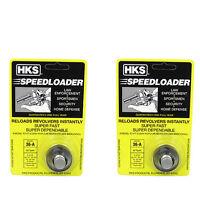 2 Pack Hks Series A Speed Loader 36-a 357 Mag 38 Taurus S&w Ruger Sp101 5 Shot