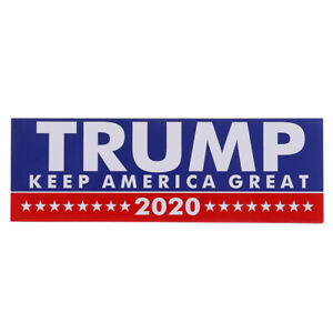 10PCS-Donald-Trump-President-2020-Bumper-Sticker-Keep-Make-America-Great