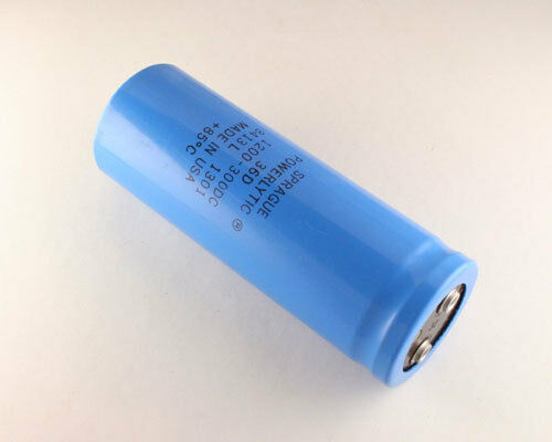 1x 7800uF 100V Large Can Electrolytic Aluminum Capacitor 7800mfd DC 85C 100VDC