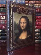 Easton Press Discovering Leonardo Da Vinci New Oversized Art Paintings Leather