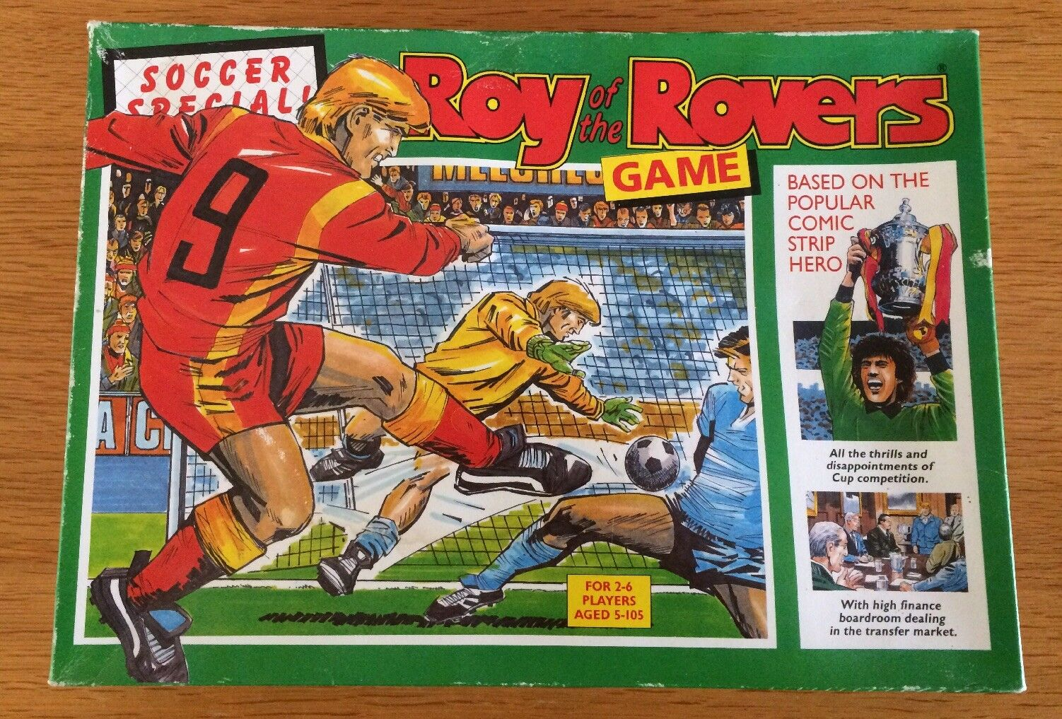 Roy Of The Rovers Board Game Soccer Special RARE