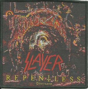 SLAYER-repentless-2015-square-WOVEN-SEW-ON-PATCH-official-merchandise