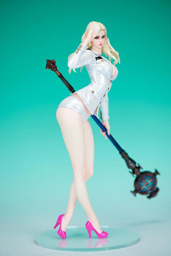 Elf Marine Version Tera Online Sexy 1 5 Unpainted Figure Model Resin Kit