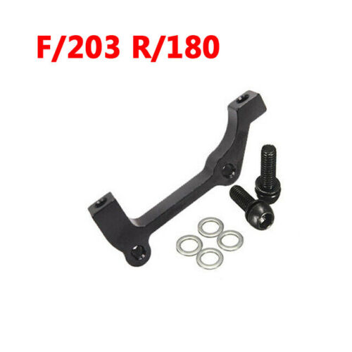 IS//PM 180//203mm Front Rear Post Mount Rotor MTB Bike Disc Brake Caliper Adapter