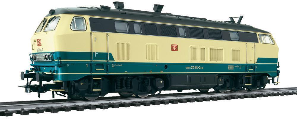 Liliput L132016, Locomotiva Diesel Br 217, Epoche V, Ac, Nuovo, Conf. Orig.