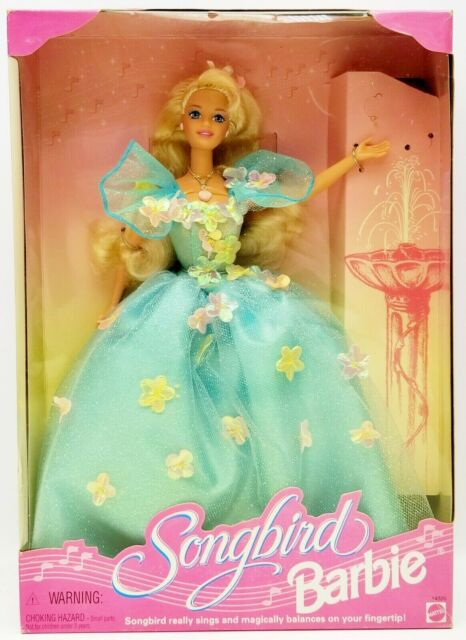 Barbie Songbird Doll with Pretty Play Pieces 1995 Mattel No. 14320 NRFB