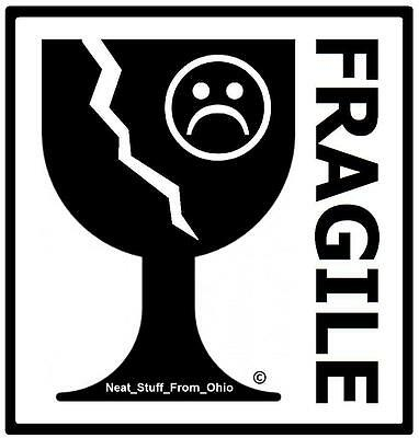 Quot Fragile Quot Rubber Stamp Internationally Recognized And