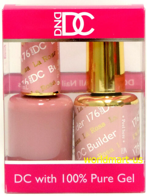 Dnd Dc Duo Gel Color Matching Polish 18ml 0 6fl Oz Color Dc176 La Rosa Ebay