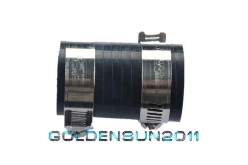 "FOR KAWISAKI HIGH TEMP EXHAUST COUPLING CLAMP 1/"" ID KX80 KX125 KX250 BLACK 1PC"