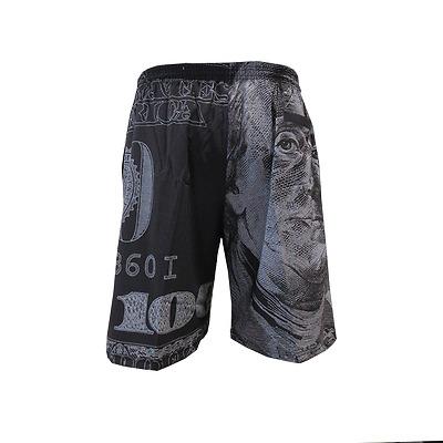 Miken Microfiber Shorts GREY//VOLT 3XL