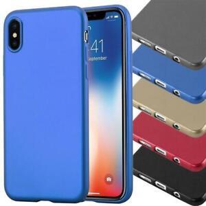 Case-for-Nokia-Protection-Cover-Metallic-matt-colors-Bumper-Silicone-TPU