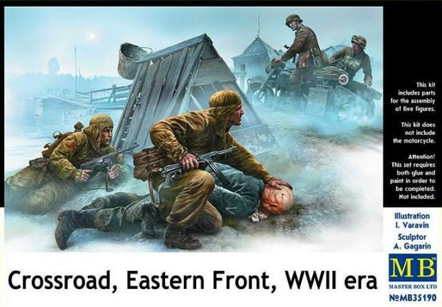 1/35 Figures: Crossroad , Eastern Front WW2 Era : Masterbox