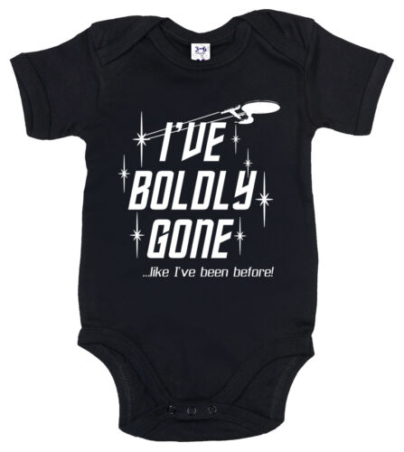 "Star Trek Body Bebè /"" i/' Ve Audace Gone come i /' Ve Been Before /"" Divertente"