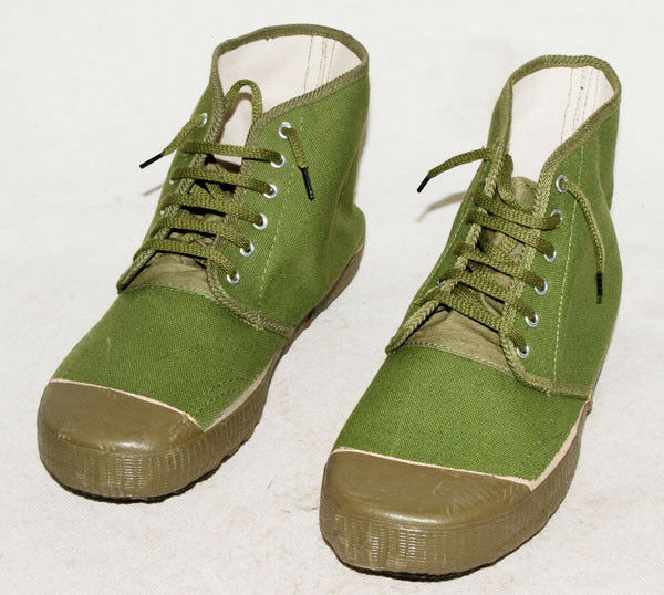 SURPLUS CHINESE ARMY PLA TYPE 65 LIBERATION SHOES BOOTS -31781